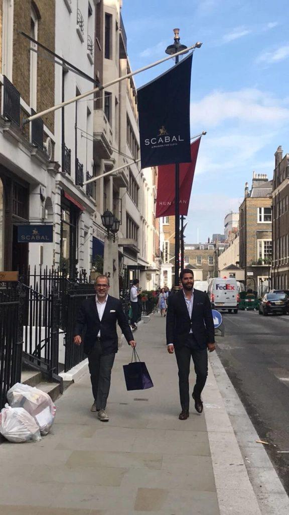 London, Saville Row.