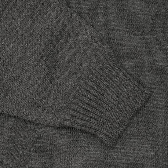 Suéter de cierre Gris