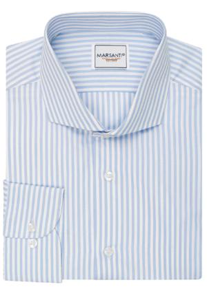 Camisa rayas azules claras