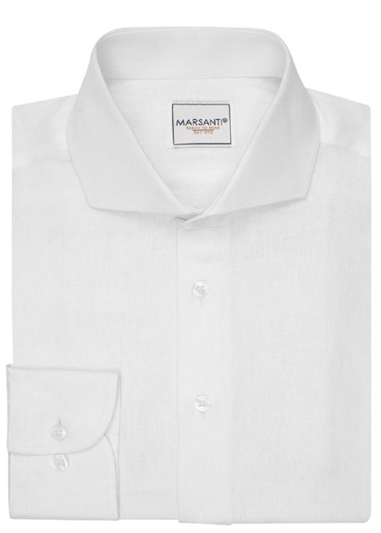 Camisa Blanca Principe De Gales Oxford