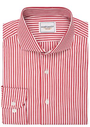 Camisa rayas rojas