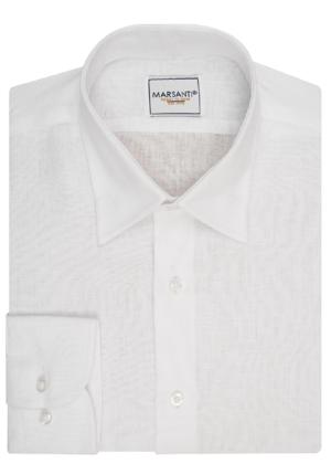 Camisa de lino cuello Under