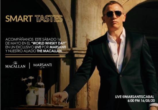 LIVE INSTAGRAM Smart Tastes by Marsanti & The Macallan