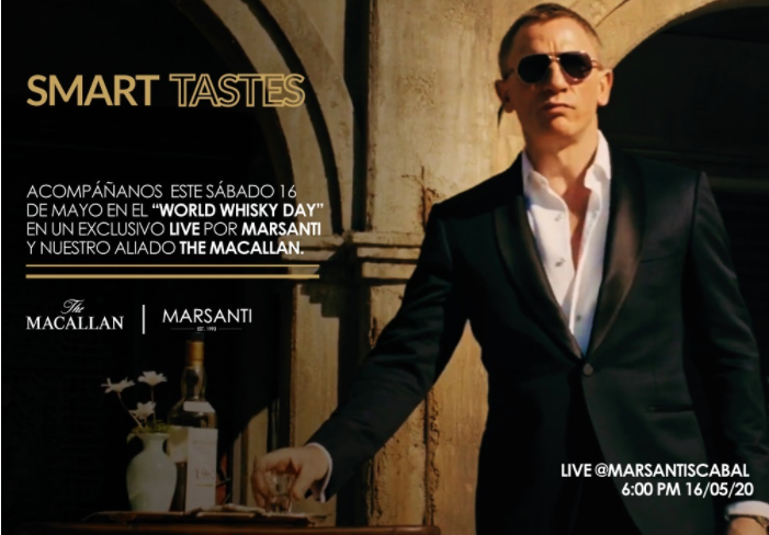 LIVE INSTAGRAM Smart Tastes by Marsanti & The Macallan