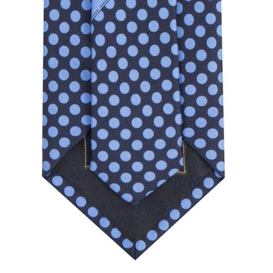 Corbatas lawrence seda azul