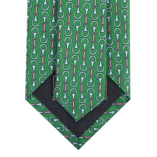 Corbatas lawrence seda verde