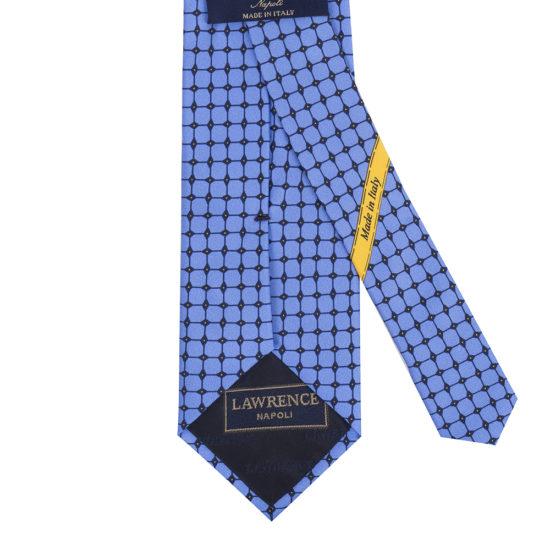 Corbatas lawrence seda azul claro
