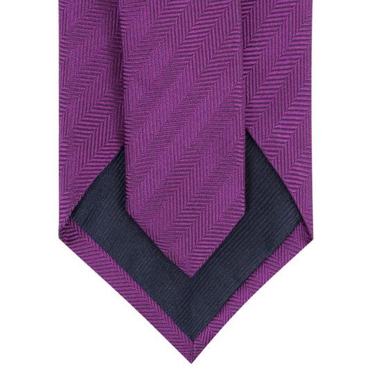 Corbatas scabal seda magenta