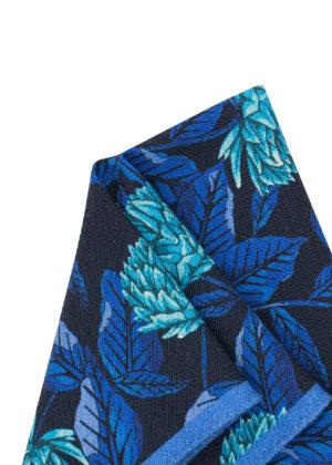 Pañuelo Marsanti Azul estampado