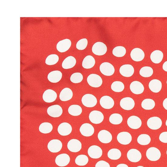 Pañuelo Marsanti estampado rojo