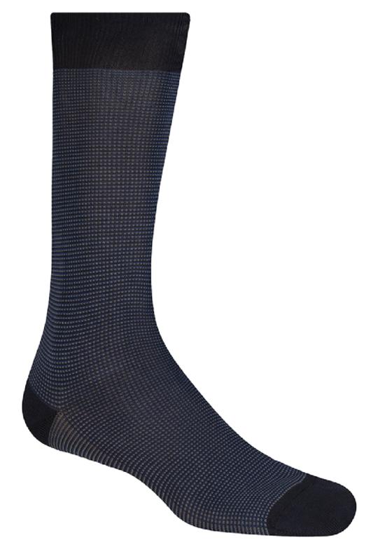 Medias Pantherella azul oscura
